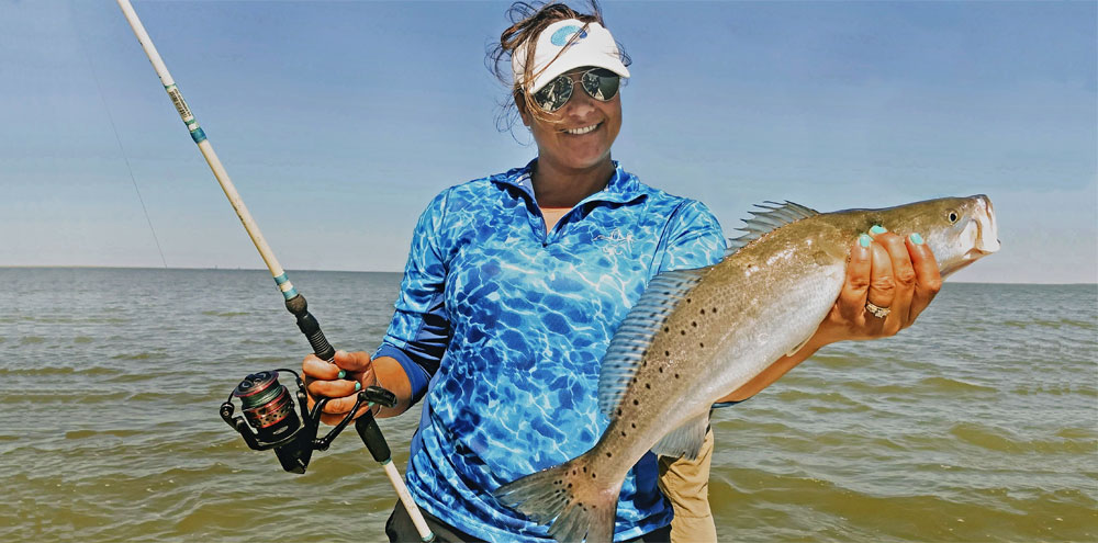 Inshore Speckled Trout Fishing